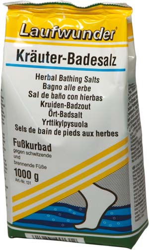 Laufwunder Kräuter-Badesalz 1000 g