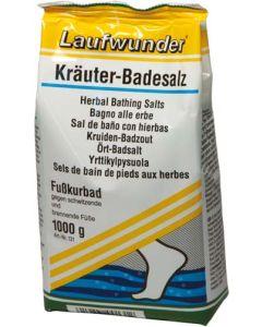 Laufwunder Kräuter-Badesalz - 1000 g