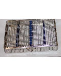 Sterilisationsbox Kassette Gitterbox Sterilisation Edelstahl