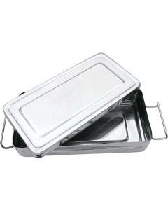 Instrumentenbox mit Deckel und Verschluss