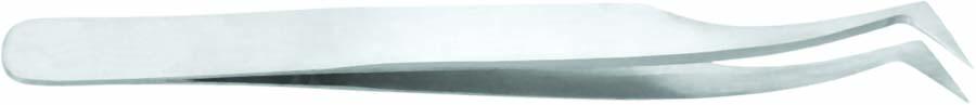 Wimpernpinzette - gebogene Spitze - 11,5 cm