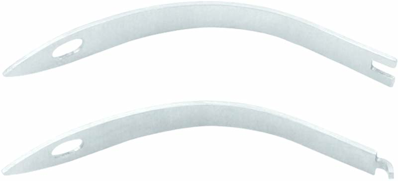 1 Paar Ersatz Federn für Hautzange / Eckenzange Doppelfeder