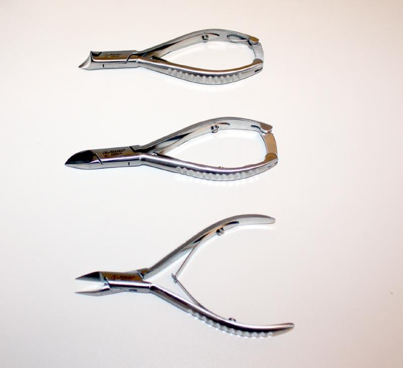 3-teiliges Diabetiker Fußpflege Nagelzangen Set
