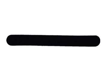 Profifeile - schwarz 100/180