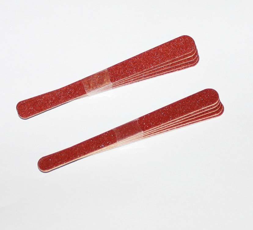 10x Sandblattfeile 11,5 cm